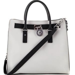 Discontinued Black and White Hamilton Bag